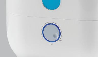 Управление ультразвуковым увлажнителем Boneco U300