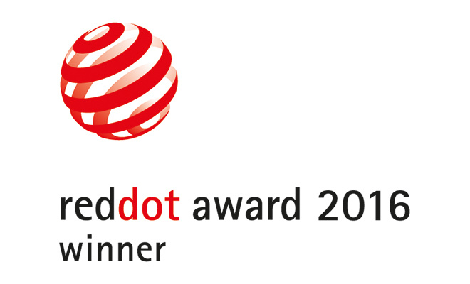 Победитель Red Dot Design Award 2016